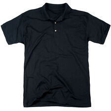 Csi Ny Cast (Back Print) Mens Polo Shirt Black