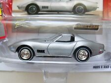 JOHNNY LIGHTNING - CLASSIC GOLD COLLECTION - 1968 CHEVY CORVETTE COUPE - DIECAST