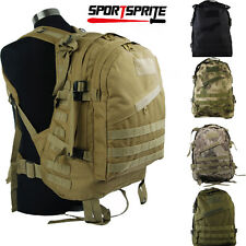 Military Tactical Backpack Large Army 3Day Assault Pack Waterproof Molle Bag 40L