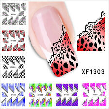 Hot DIY Nail Care Manicure Nail Art Decals Water Transfer Stickers Decoration