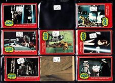 Star Wars RED 1977 34 to 66 GUM CARDS...JUST PICK THE CARDS YOU NEED