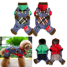 Warm Coat Pet Small Dog Cat Puppy Hoodie Thick Jacket Clothes Apparel Costume
