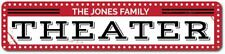 Theater Sign, Personalized Family Name Sign, Man Cave Sign ENSA1001411