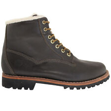 Timberland Ek Heritage Waterproof Bomber Brown Leather Mens Boots 6555A T4