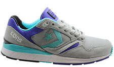 Converse Wave Racer Ox Mens Low Trainers Grey Green Purple Lace Up (147444C D66)
