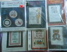 CHOOSE ONE: NEEDLEMAGIC NMI STAMPED/COUNTED (THREAD) CROSS STITCH/BEADING KITS