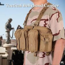 Military Army Tactical Bellyband Carrier Vest Army Hunting Tactical Pouches H3B5