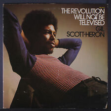 GIL SCOTT-HERON: The Revolution Will Not Be Televised LP (sm cover tear, some c