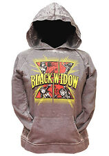 Her Universe Marvel Black Widow Retro Hoodie Pullover