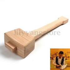 Beech Hardness Carpenter Wood Wooden Mallet Hammer Handle Woodworking S/M/L