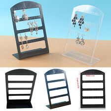 Stand Holder Plastic Trendy 48 Holes Earrings Jewelry Display Rack Show