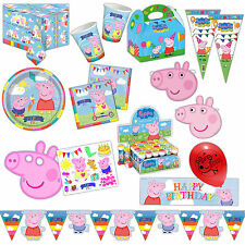 Peppa Pig Summer Fun Children's Party Plates Cups Napkins Tableware Listing