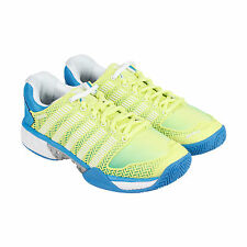 K-Swiss Hypercourt Express Womens Green Mesh Athletic Lace Up Training Shoes
