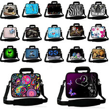 "Laptop Shoulder Bag Sleeve Case Handbag For 10.1"" 13.3"" 14"" 15.4"" 17.3"" Notbooks"