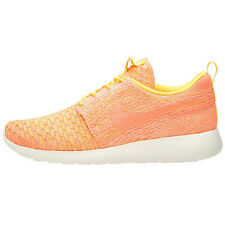 Nike Wmns Roshe One Flyknit Ladies Trainers Shoes Orange New run free
