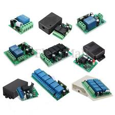 1/2/4 CH Channel Wireless RF Remote Control Receiver Relay Switch 315/433MHz
