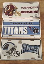 NFL FOOTBALL METAL LICENSE PLATE 12 X 6 NEW SPORTS FAN COLLECTIBLE NFL Plates