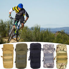 New Tactical Outdoor Gear Molle Water Bottle Bag Kettle Pouch Mess Pouch