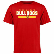 Ferris State Bulldogs Red Team Strong T-Shirt - College