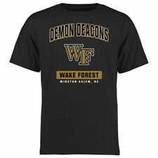 Wake Forest Demon Deacons Black Campus Icon T-Shirt