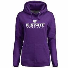Kansas State Wildcats Women's Purple Kansas State Basketball Pullover Hoodie