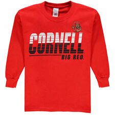 New Agenda Cornell Big Red Youth Red Decision Long Sleeve T-Shirt - College