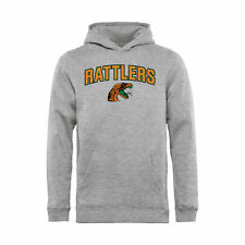 Florida A&M Rattlers Youth Ash Proud Mascot Pullover Hoodie -