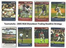 2005 MLB Showdown Trading Deadline Strategy Baseball Set ** Pick Your Team **