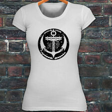 NAVY ANCHOR U.S. ARMED SPECIAL FORCES MILITARY Womens White T-Shirt