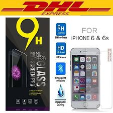 DHL 500pcs/lot Premium Real Tempered Glass Screen Protector for iPhone 7 SE 6s 6