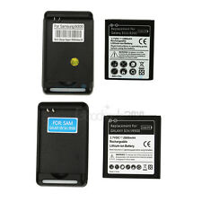 New Battery + External Dock Charger for Samsung Galaxy S3 I9300 S4 I9500 i747