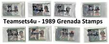 1989 Grenada Stamps Baseball Set ** Pick Your Team **