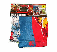 Marvel Comics Avengers Thor Hulk Iron Man Licensed Boxer Shorts