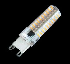10pc Dimmable G9 80-4014SMD LED BULB lamp 5W 500lm 110/240V Silicone White/warm