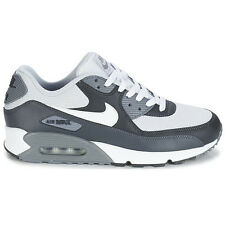 Nike Air Max 90 Essential Grey-White Men's Shoes Premium Trainers NEW