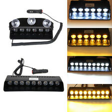 6 / 9 LED Strobe Light Police Emergency Dash Flash Warning Lamp for Car Vehicle