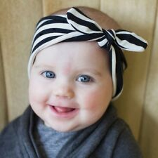 1 PC Cute Kids Girl Baby Toddler Bow Headband Hair Band Accessories Headwear