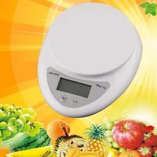 5kg 5000g/1g Digital Electronic Kitchen Food Diet Postal Scale Weight Balance #@