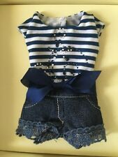 """Tonner Doll Co 16"""" Sweet Nothing Navy Outfit Mint"""