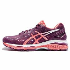 Asics Gel-Kayano 23 Purple Pink Women Running Shoes Sneakers Trainers T696N-3206