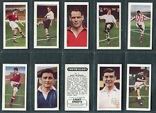 """CADET SWEETS 1957 """"FOOTBALLERS"""" (66mm x 35mm) TRADE CARDS - PICK YOUR CARD"""