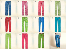 NWT Hollister-Abercrombie Classic Skinny or Banded Sweatpants Leggings Blue Pink