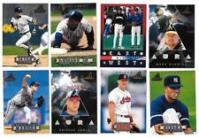 1997 Pinnacle New Baseball Set ** Pick Your Team **
