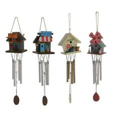 4-Copper Tube Windchime Wooden Wind Chime Bell Home Garden Yard Outdoor Decor