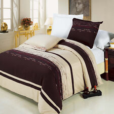 8PC Clarice Embroidered Bed in a Bag Set- Duvet Set-Sheets & White Comforter