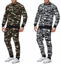 Men's Camouflage Army Jogging Suit Jogging Pants Jacket Trackies Trackies