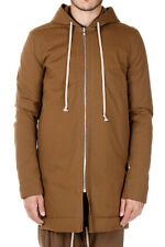 RICK OWENS Man Padded Hooded Coat Made in Italy