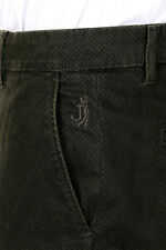 JECKERSON Man New Stretch Cotton Chino Trousers Made in Italy Original