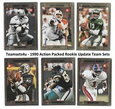 1990 Action Packed Rookie Update Football Set ** Pick Your Team **