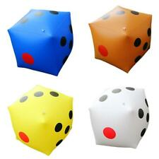 24'' INFLATABLE TOY LARGE D6 DICE CASINO GAME SUPPLY KIDS POOL BEACH FUNNY TOY
